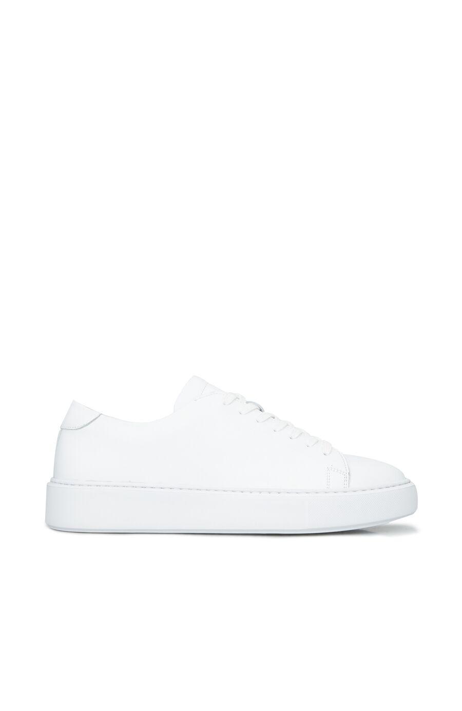 Beyaz Erkek Deri Ayakkabı