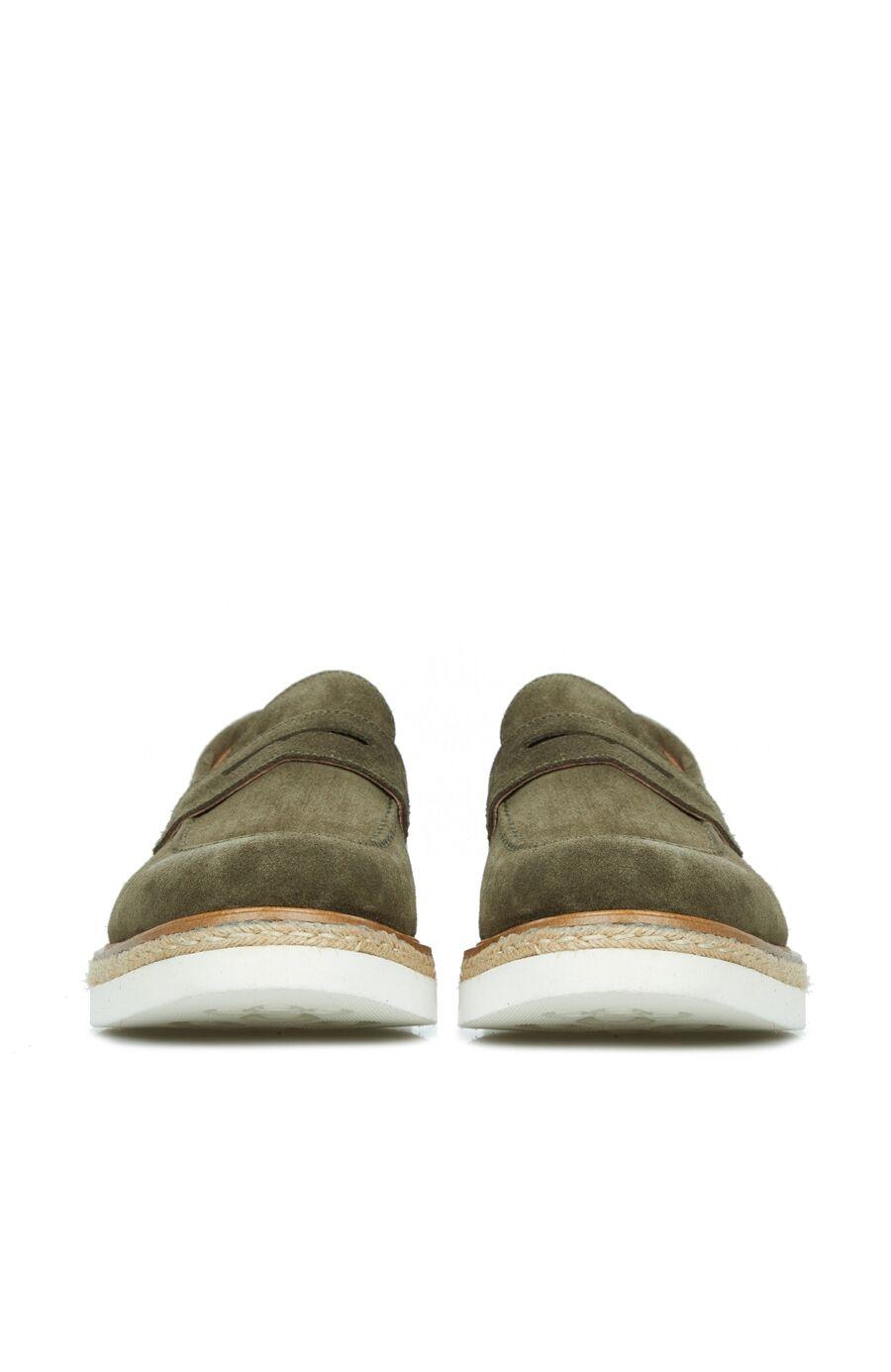 Erkek Haki Loafer