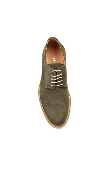 Erkek Haki Süet Ayakkabı