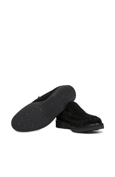 Siyah Erkek Süet Loafer