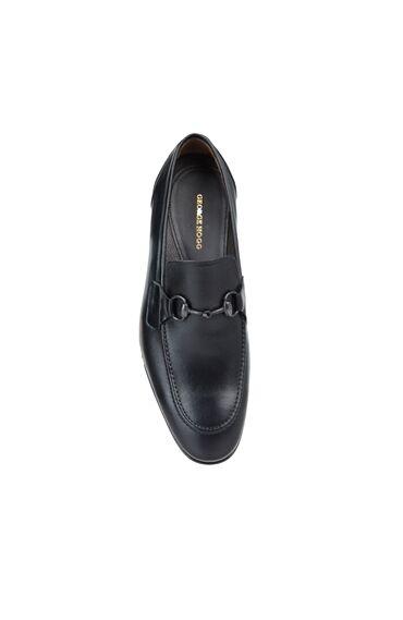 Erkek Siyah Bant Detaylı Loafer