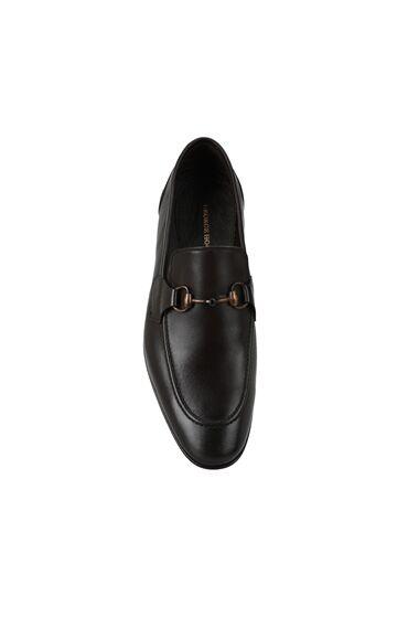 Kahverengi Erkek Deri Loafer