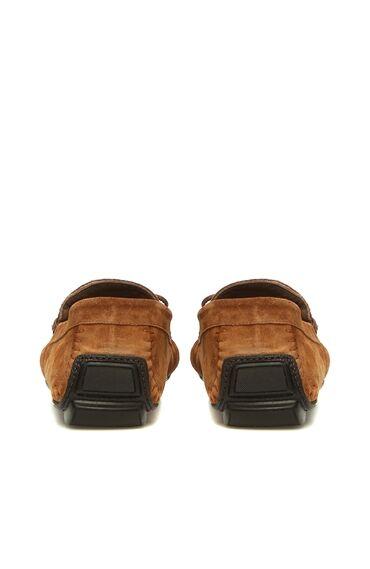 Kahverengi Püsküllü Süet Erkek Loafer