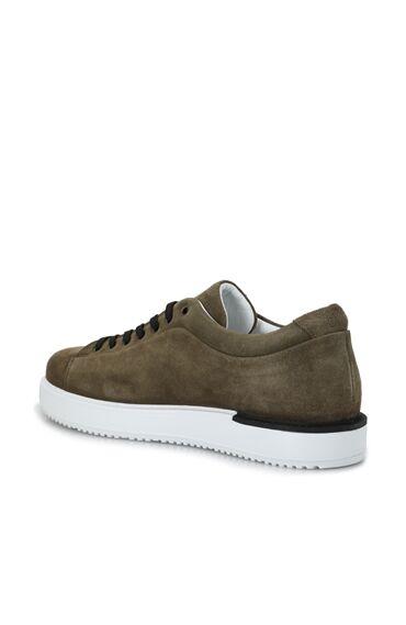 Haki Erkek Süet Sneaker