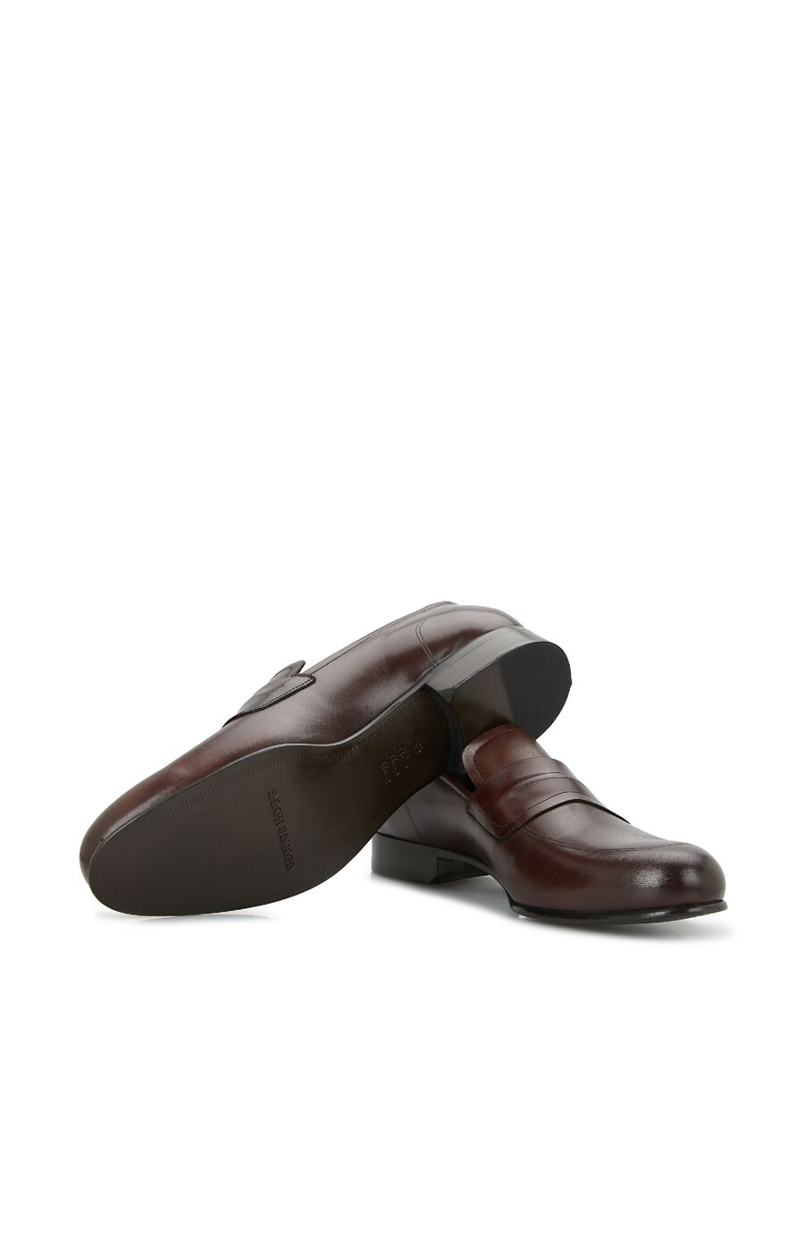 Kahverengi Bant Detaylı Erkek Ayakkabı