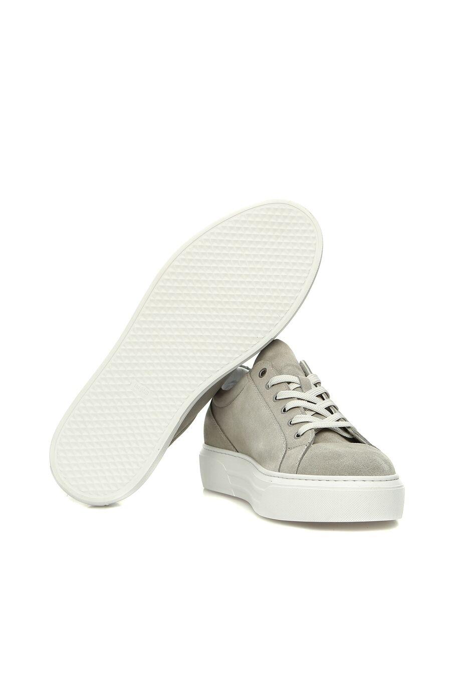 Gri Logolu Erkek Sneaker