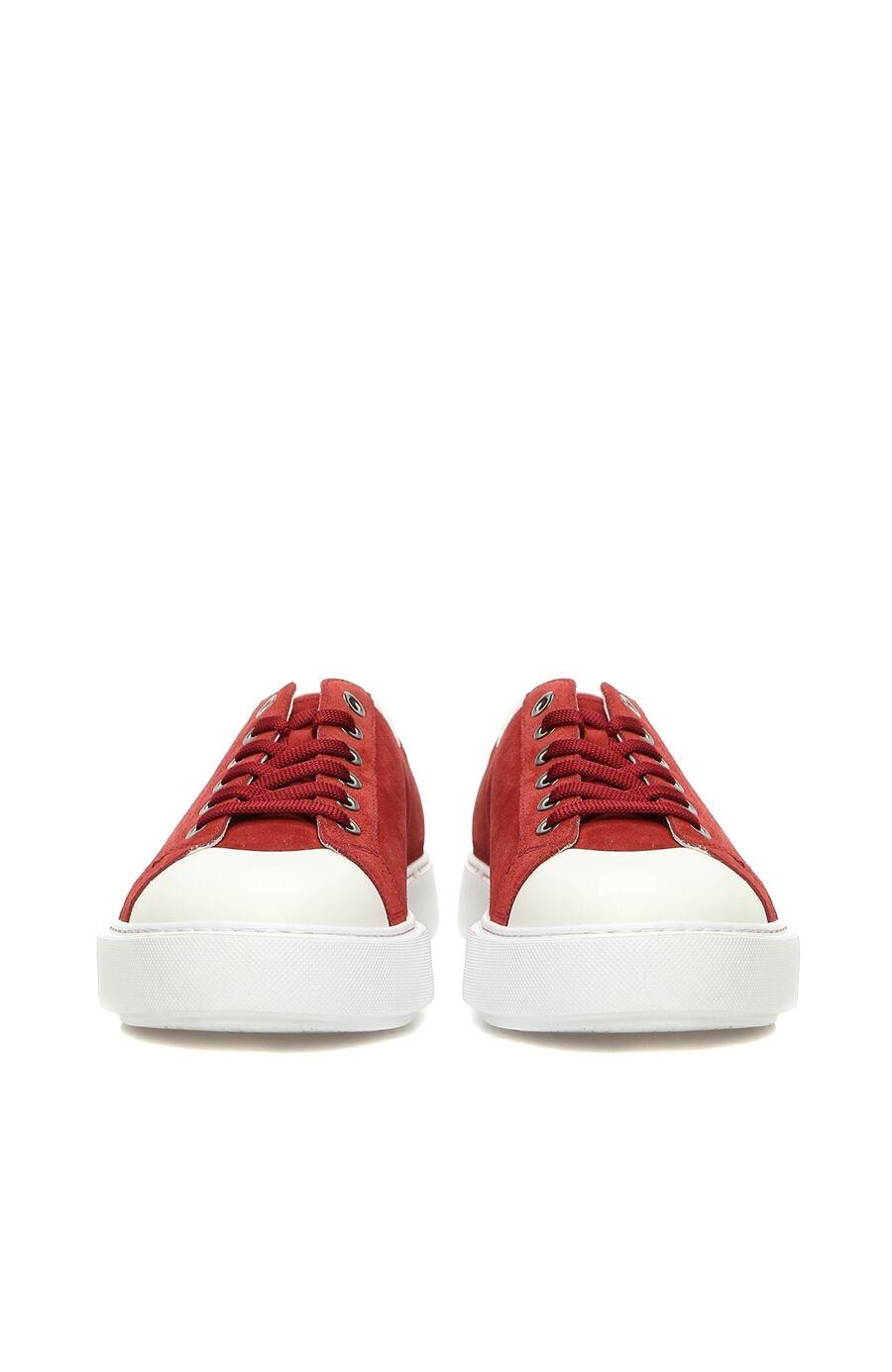 Kırmızı Süet Erkek Sneaker