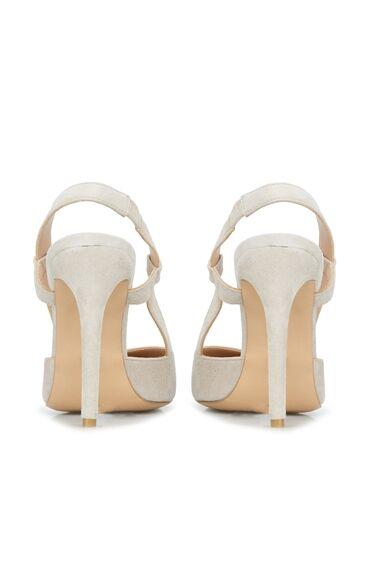 Kadın Nude Süet Topuklu Ayakkabı