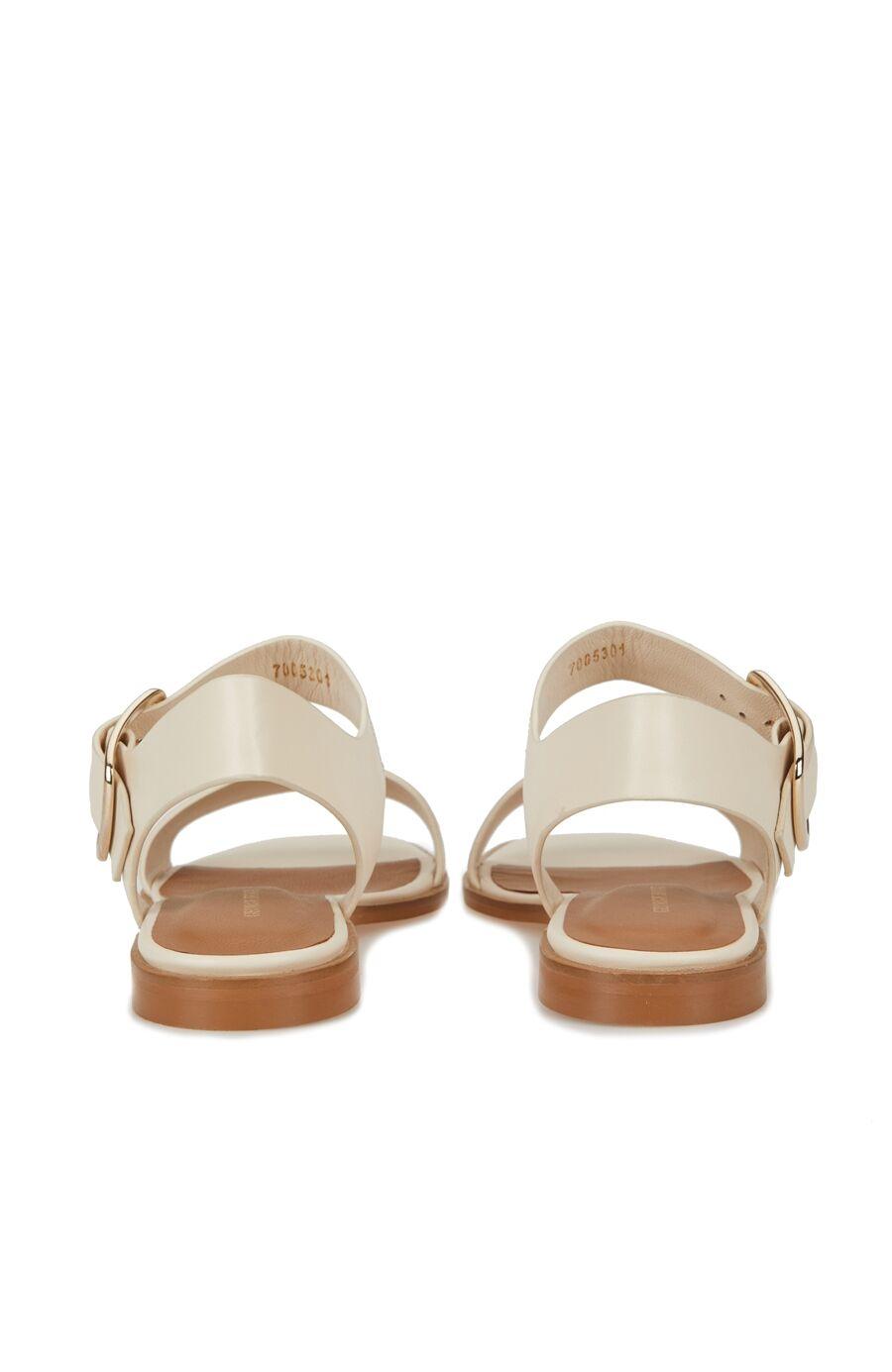 Beyaz Kadın Sandalet