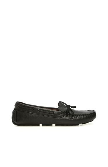 Siyah Floter Kadın Loafer