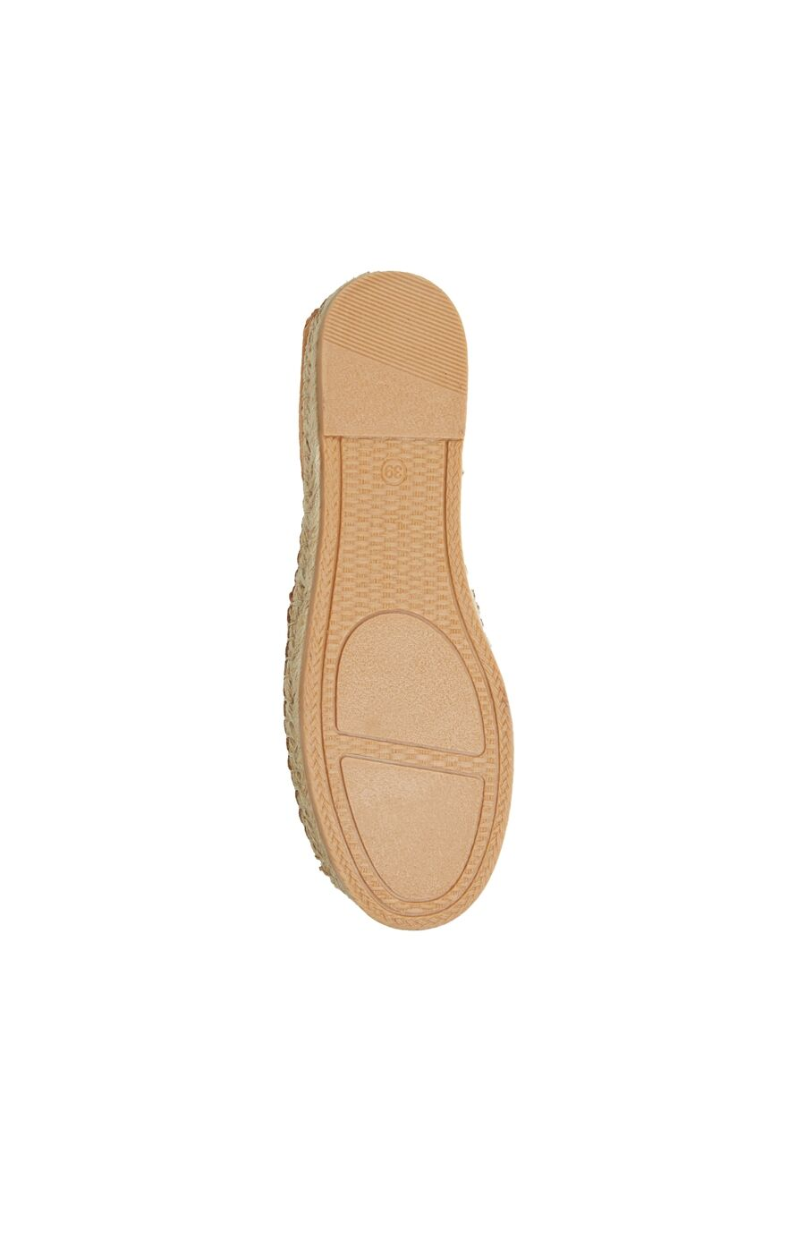 Kadın Taba Hasır Tabanlı Ayakkabı