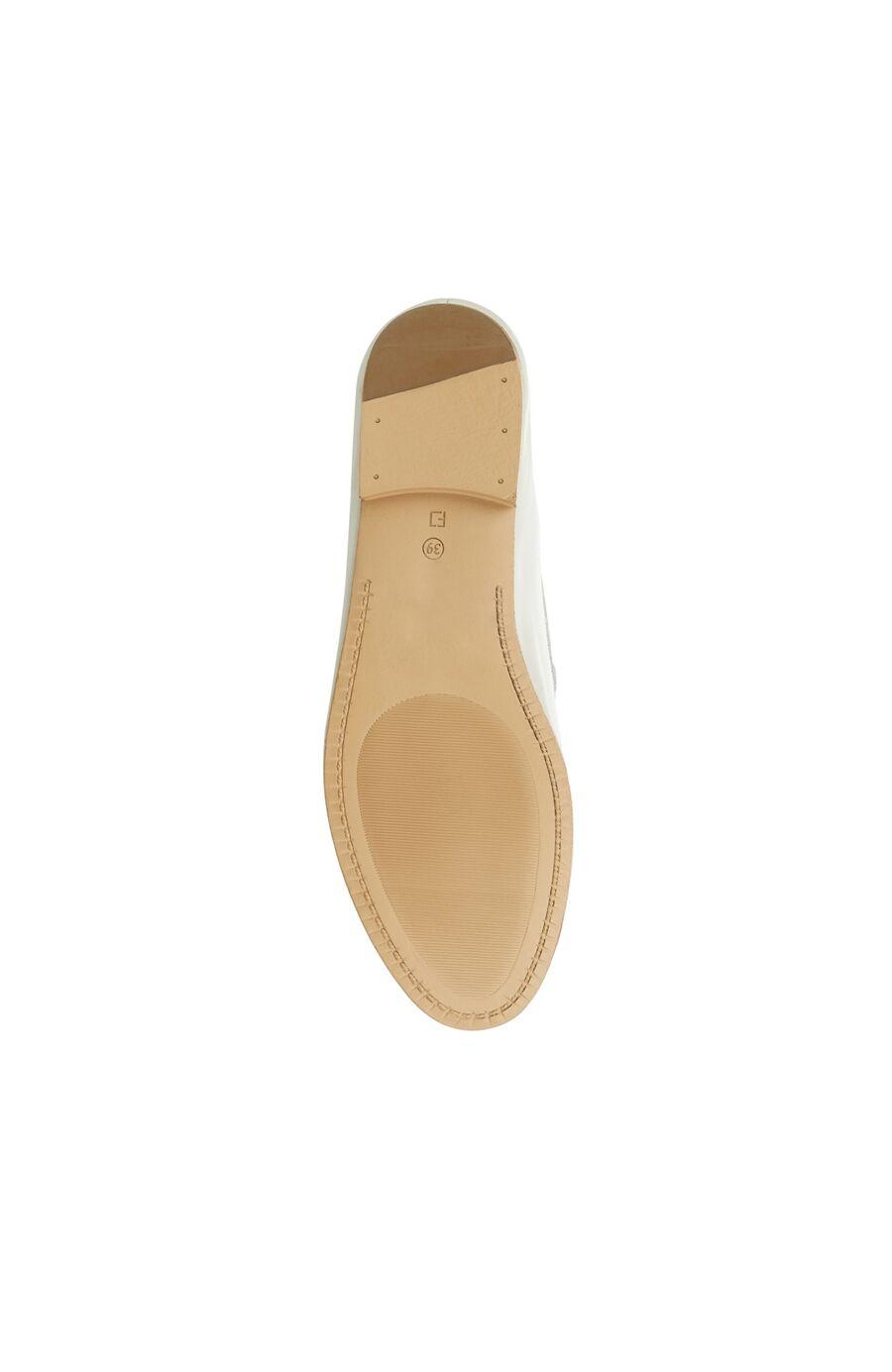 Gri Kadın Deri Loafer