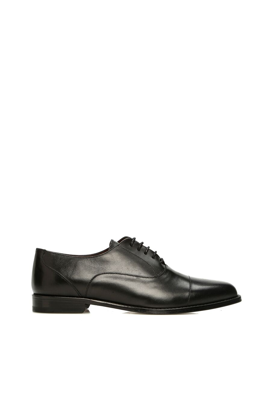 Kadın Siyah Deri Ayakkabı