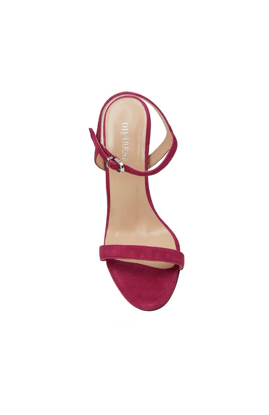 Fuşya Kadın Süet Sandalet