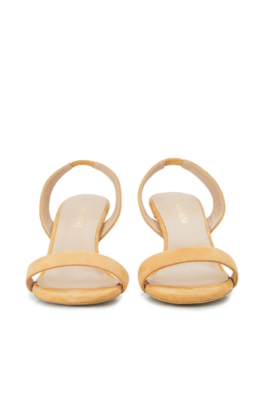 Kadın Sarı Topuklu Sandalet