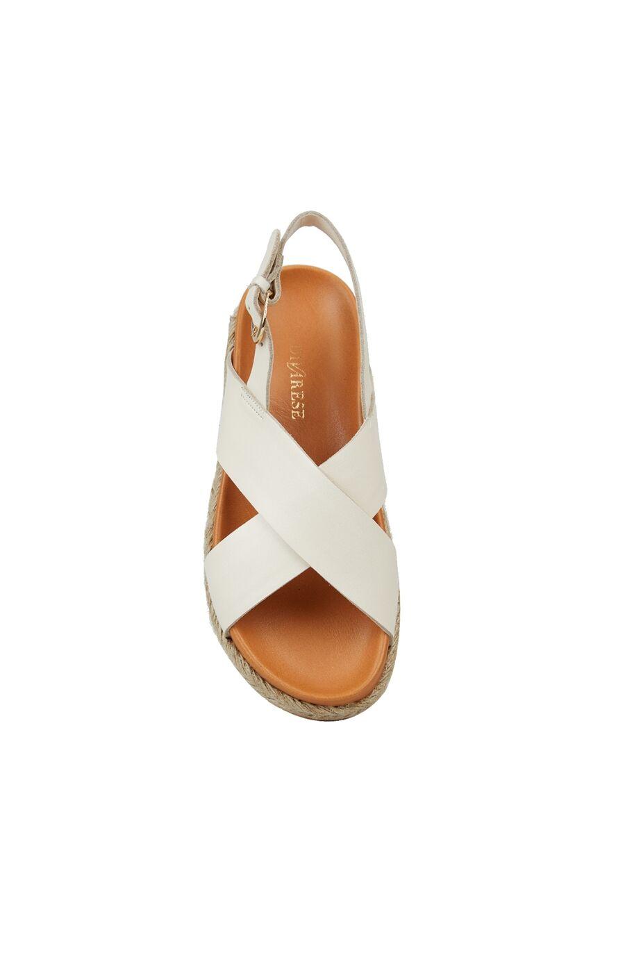 Bej Taban Detaylı Kadın Sandalet