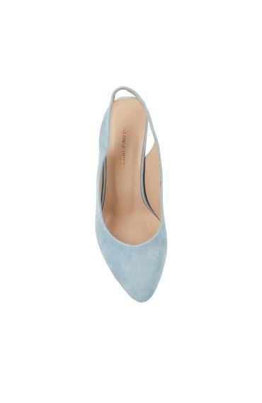 Kadın Mavi Topuklu Ayakkabı