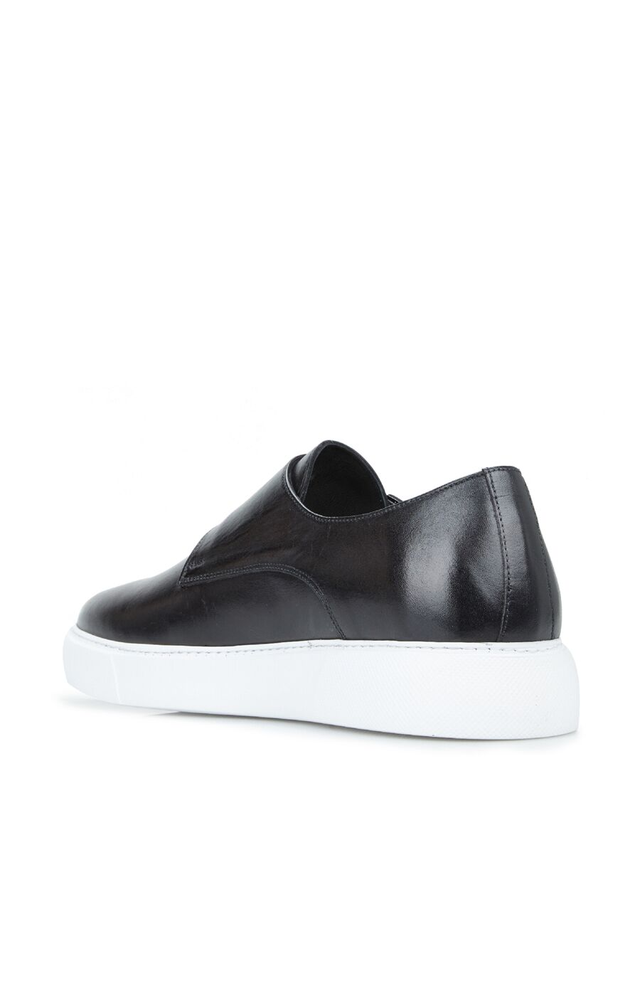 Erkek Siyah Kemer Detaylı Ayakkabı