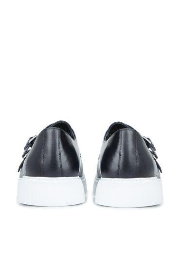 Erkek Lacivert Kemer Detaylı Ayakkabı