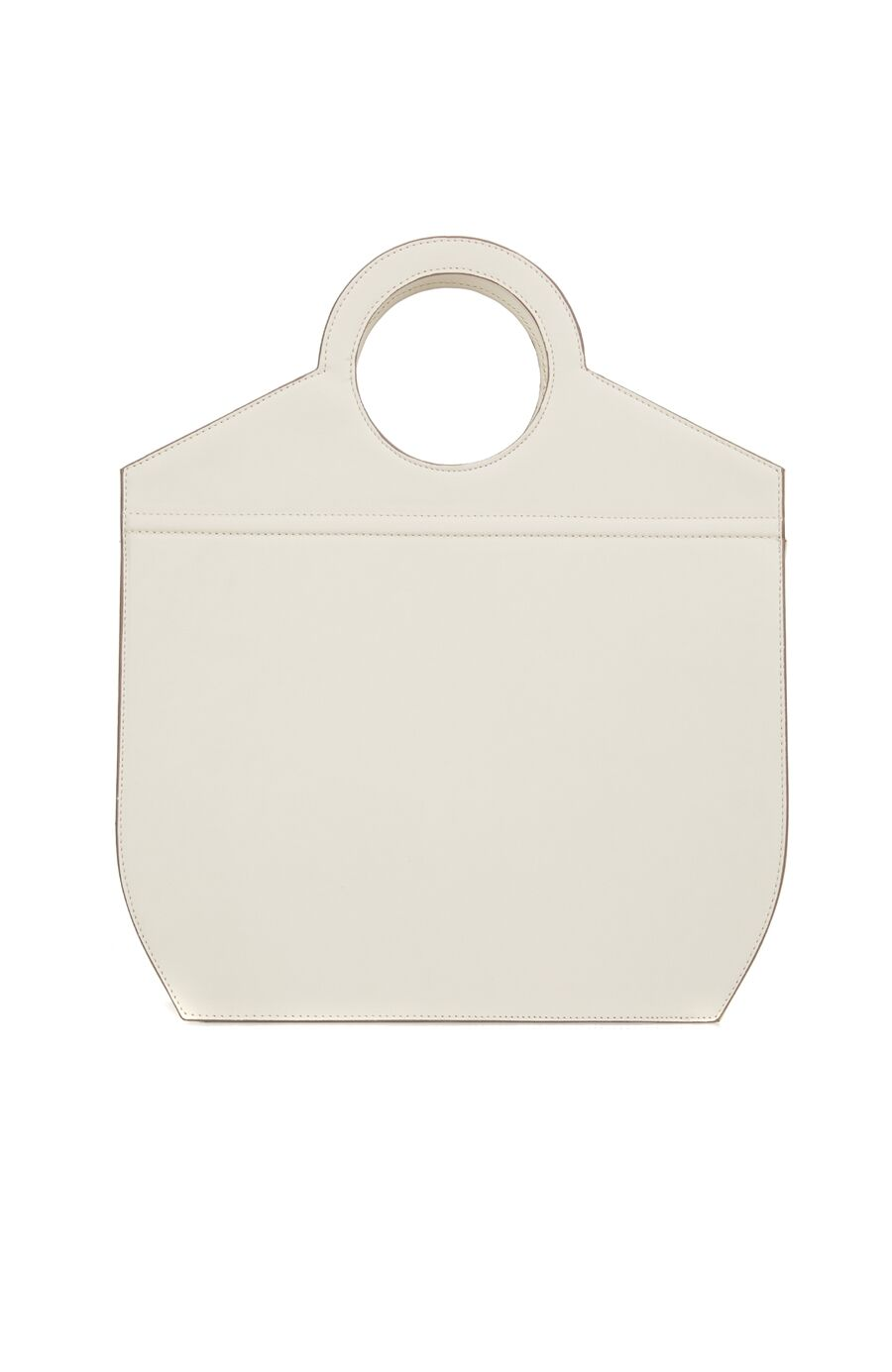 Bej Logolu Kadın Çanta