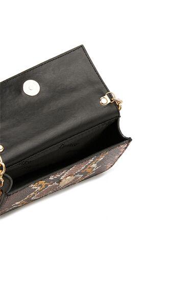 Colorblocked Desenli Kadın Deri Çanta