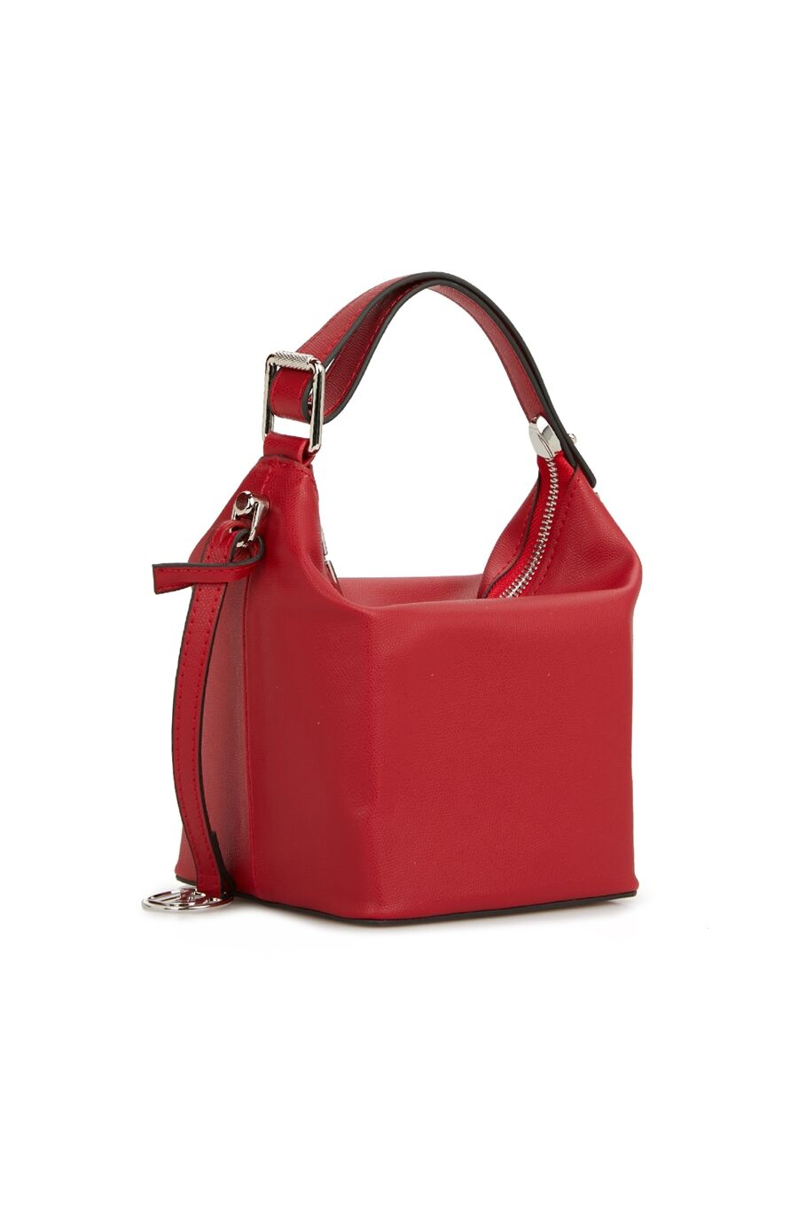 Kırmızı Logolu Kadın Omuz Çantası