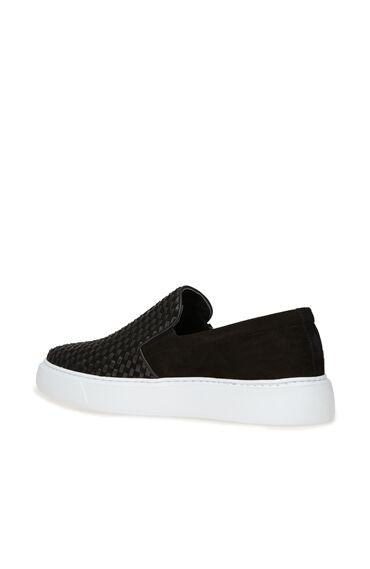 Siyah Dokulu Erkek Sneaker