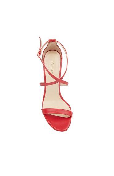 Kırmızı Topuklu Sandalet