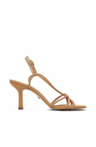 Camel İnce Bantlı Kadın Sandalet