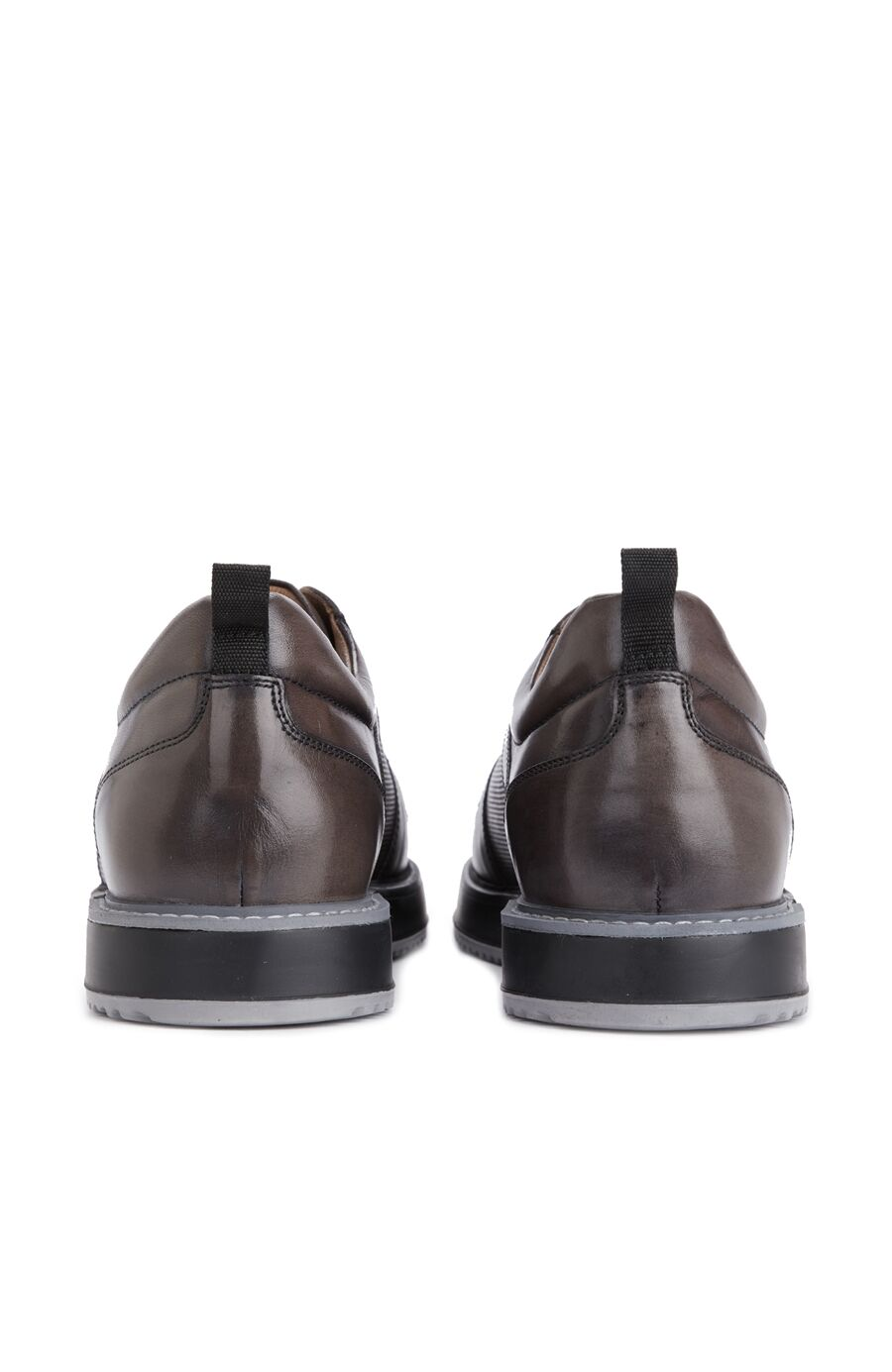 Kahverengi Dokulu Erkek Ayakkabı