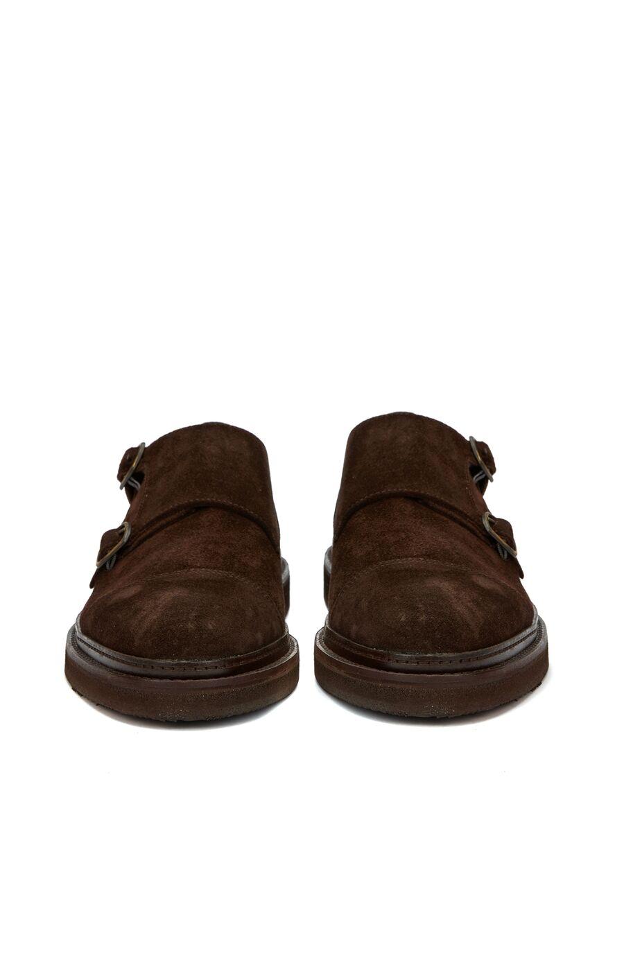 Çift Kemer Detaylı Erkek Ayakkabı