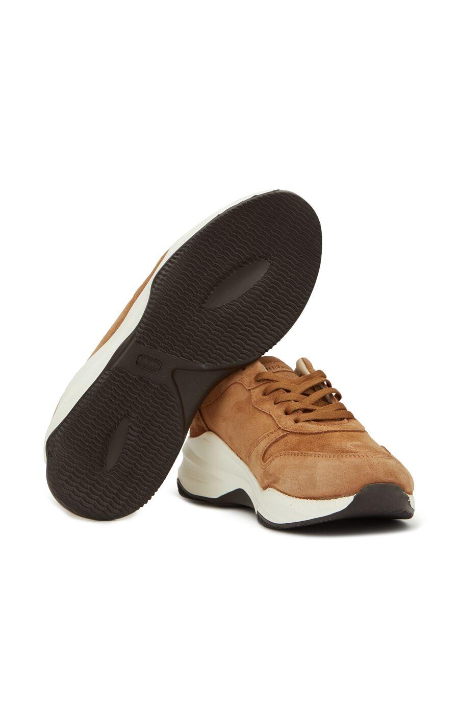 Taba Kadın Süet Sneaker