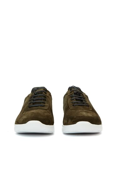 Haki Beyaz Erkek Sneaker