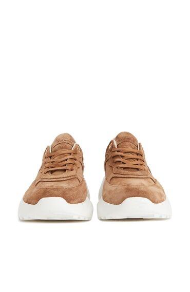 Camel Desen Detaylı Kadın Sneaker