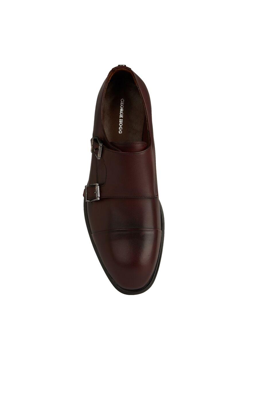 Bordo Kadın Deri Ayakkabı