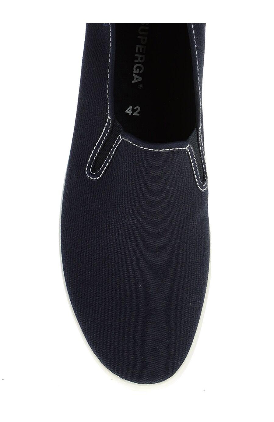 Lacivert Keten Slipper Ayakkabı