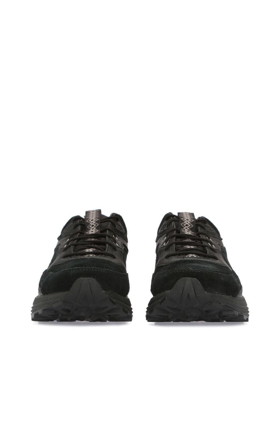 Siyah Süet Erkek Sneaker
