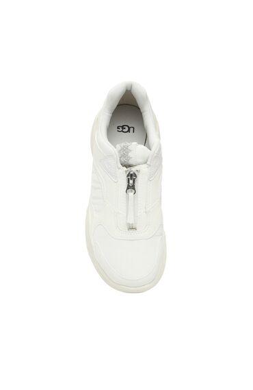 Beyaz Kalın Tabanlı Kadın Sneaker