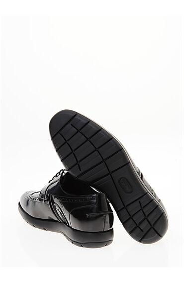 Siyah Dexter Zımbalı Ayakkabı
